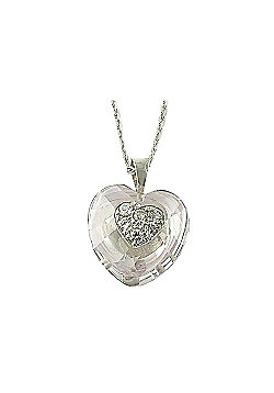 Babette Wasserman Dragon Heart Necklace - Crystal