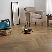 Westco Glueless Engineered Limed Oak Herringbone