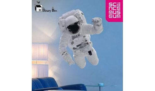 Science Museum Astronaut Wall Sticker