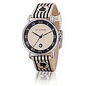 Lulu Guinness Glamour Ladies Date Display Watch - LG20008S01X