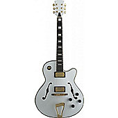 Rocket A300-WH Standard Jazz Guitar - White