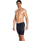Speedo Mens Sports Logo Jammer - Black