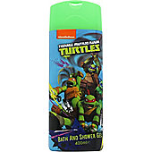 Teenage Mutant Ninja Turtles Bath & Shower Gel 400ml