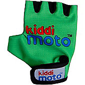 Kiddimoto Gloves for ages 4 to 7 yrs - Neon Green (Medium)