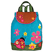 Children's Blue Ladybird Backpack