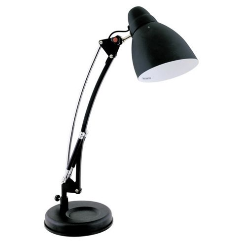Home Essence Reach Hobby 60W Desk Lamp in Matt Black