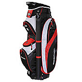 Prosimmon Tour 14 Way Cart/Trolley Golf Bag Black/Red