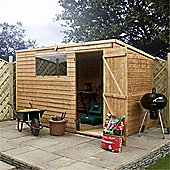 10ft x 6ft Overlap Pent Shed