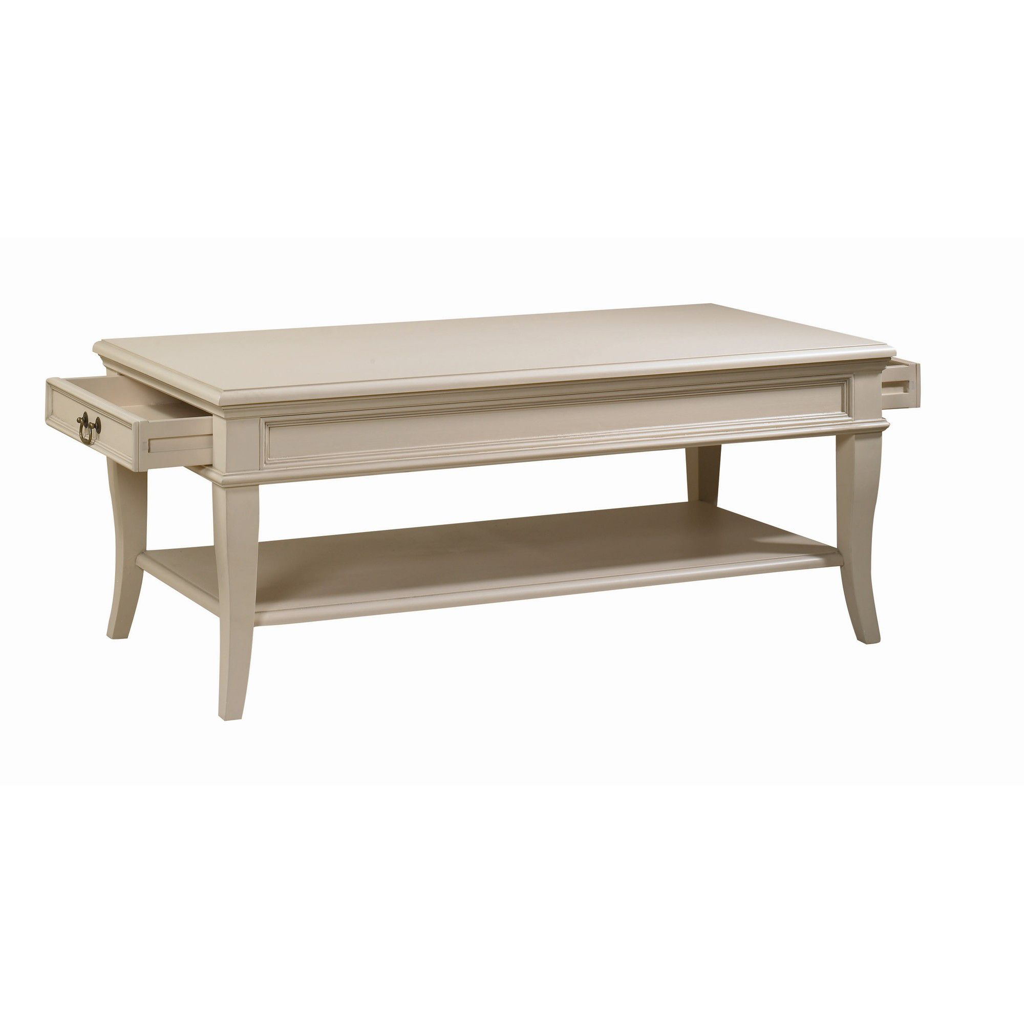 YP Furniture Country House Coffee Table - Ivory at Tesco Direct