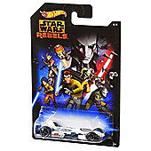 Hot Wheels Star Wars Vehicle Rebels Jet Threat 3.0
