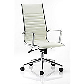 Maestro Ritz High-Back Executive Chair - White
