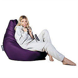 Big Bertha Original™ Indoor / Outdoor Highback Bean Bag - Purple