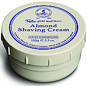 Taylor of Old Bond St Shaving Cream Almond Tub 150g