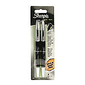Sharpie Stylo Grip Pen - Fine Black 2pk