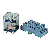 Powerrelay 30A Single Pole Double Through (Single Pole Double Through (SPDT)12VDC