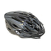Coyote Sierra Dial Fit Adult Cycling Helmet Black Medium
