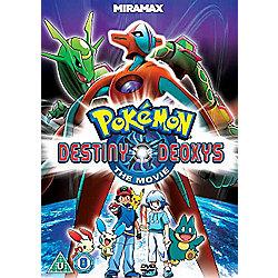 Pokemon - Destiny Deoxys DVD