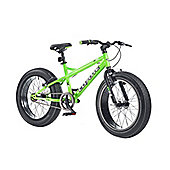 "2015 Coyote Fatman Fat Bike 20"" x 4"" Neon Green/Matt Black"