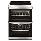 AEG 49176V-MN COMPETENCE 60cm Electric Cooker in Stainless steel
