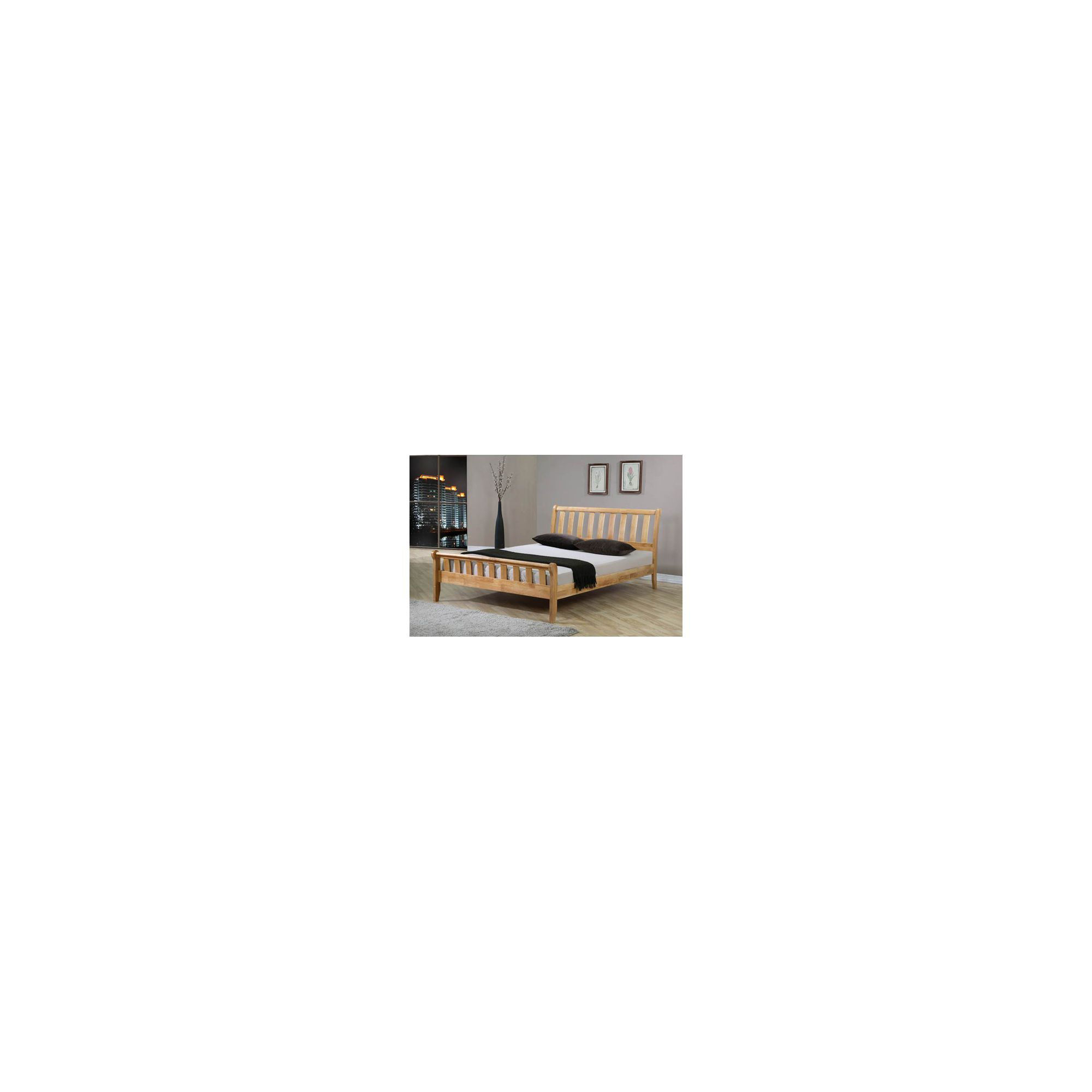 Sleepy Valley Corvallis Bed - 2 Underbed Drawers/Hardwood - Small Double at Tesco Direct