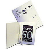 Chocolate Cards - 50th Birthday