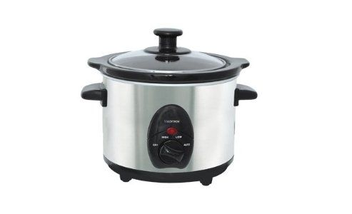 Lloytron E821SS 1.5L Stainless Steel Mini Slow Cooker