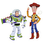 Interactive Talking Buzz and Woody