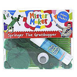 Mister Maker Mini Makes - Springer The Grasshopper