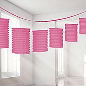 Pink Lantern Garland - 3.65m