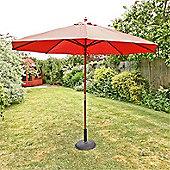 Sturdi 3m Parasol - Terracotta