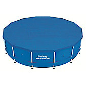 "Bestway 15ft x 48"" Steel Pro Frame Winter Debris Pool Cover"