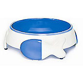 Petmate Cat Plate and Bowl Set in Blue