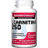 Jarrow Carnitine 250mg 100 Capsules