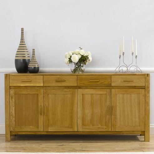 Mark Harris Furniture Verona Sideboard - Medium Oak
