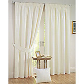 Sunset Ready Made Blackout Curtains - Cream