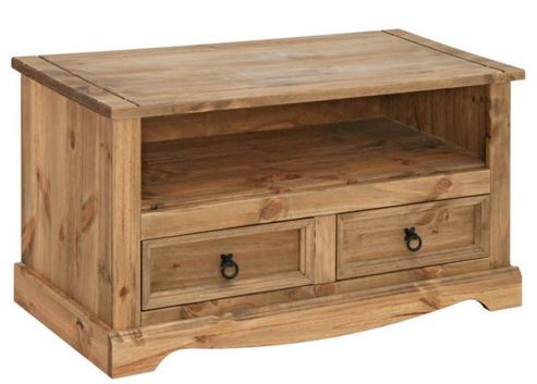 Buy Mexican Style Pine TV Cabinet For Up To 42 TVs From