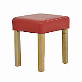 Monroe Stool Red Bar Stool