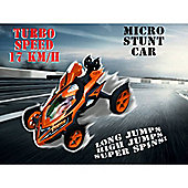Auldey High Speed Stunt Micro RC Car Orange