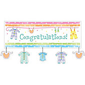 Baby Shower Giant Banner (each)
