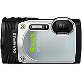"Olympus TG-850 Digital Camera, Silver, 16MP, 5x Optical Zoom, 3"" LCD Screen, Waterproof"