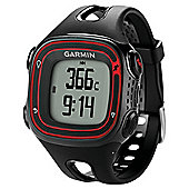 Garmin Forerunner 10 GPS Running Watch, Black and Red