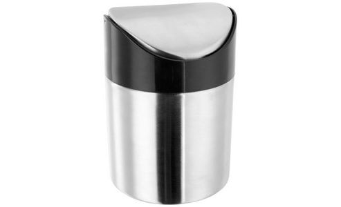 Mini Stainless Steel Table Top Bin