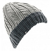 Cable Knit Audio Beanie Ink