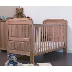 V&M Alex Cot Bed in Antique Pine