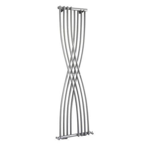 Hudson Reed Xcite Designer Radiator 1775mm x 450mm High Gloss Silver