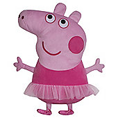Peppa Pig Ballerina Shaped Cushion