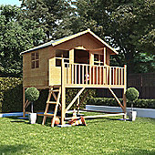 Mad Dash Lollipop Max Tower Wooden Playhouse, 7ft x 8ft