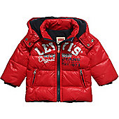 Levis Baby Boys Jacket - Plume Red - 12 Months, 36 Months - Multi