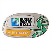 Official Australia Rugby World Cup 2011 Pin Badge