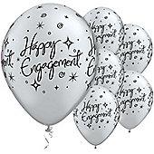 11' Engagement Elegant Sparkles (6pk)